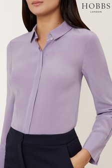 Hobbs Purple Odette Shirt
