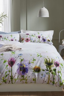 Spring Floral Duvet Cover and Pillowcase Set