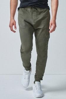 Узкие спортивные брюки карго