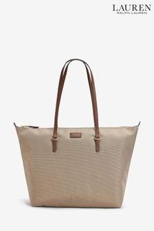 6fb75b45180c0 Polo Ralph Lauren Nude Nylon Tote Bag