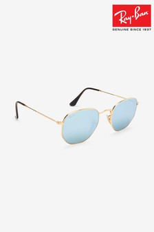 Ray-Ban® Hexagonal Sunglasses