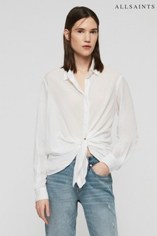 AllSaints White Sirena Shirt