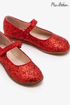 Čevlji mary jane rdeče barve za zabavo Boden