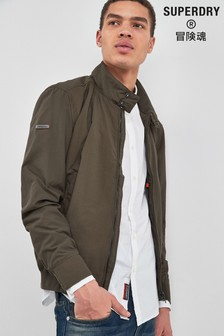 Superdry Khaki Harrigton Jacket