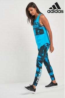 adidas Linear Leggings mit Print