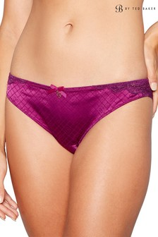 B by Ted Baker Purple Geo Jacquard Brazilian Brief