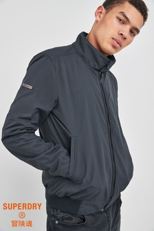 Superdry Navy Harrigton Jacket