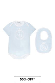 Dolce & Gabbana Kids Baby Boys Blue Gift Set