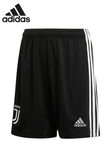 adidas Youth Juventus FC 19/20 Home Shorts, schwarz/weiß