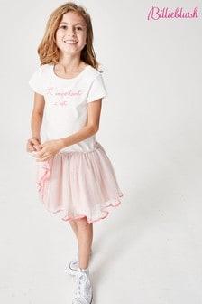 Розовое сетчатое платье Billie Blush