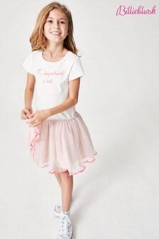Billie Blush Pink Mesh Dress