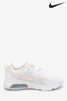 Nike Pink/White Air Max 200 Trainers