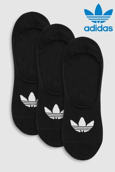 adidas Originals Adults No Show Socks 3 Pack