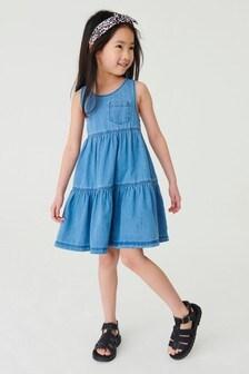 Racerback Tiered Dress (3-16yrs)