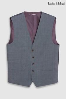 Tollegno Signature Textured Suit: Waistcoat