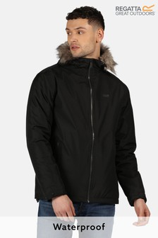 Regatta Black Haig Waterproof Jacket