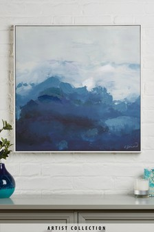 Lienzo con marco Suffolk Sea de Victoria Friend de Artist Collection