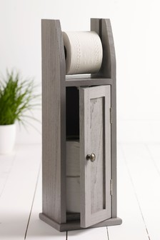 Wooden Toilet Roll Holder