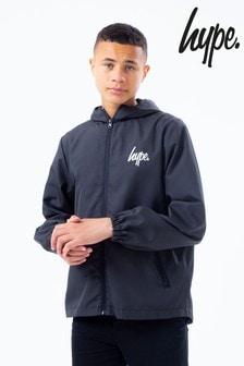 Hype. Black Tech Jacket