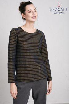 Seasalt Tregurrow Dark Hay St Gluvias Sweatshirt