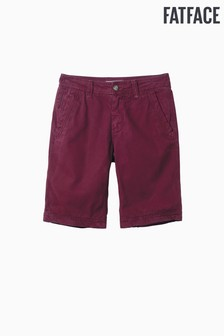 FatFace Purple Cove Flat Front Short