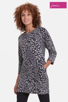 Joules Black Feather Rhona Tunic