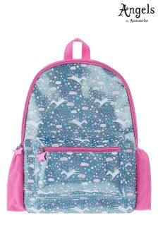 Angels By Accessorize Glitter Unicorn Print Backpack