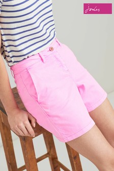 Joules Pink Cruise Mid Thigh Length Chino Short
