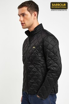 Barbour® International Black Gear Quilt Jacket