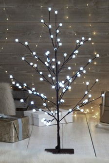 100 Large Bulb 5ft Twig Tree
