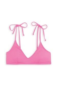 Crop Triangle Bikini Top