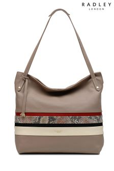 Radley Mink Shoulder Zip Top Large Tote