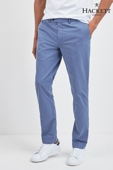 Hackett Blue Core Kensington Slim Fit Chino