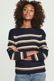Chunky Button Detail Sweater