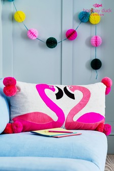 Bombay Duck Flamingos Cushion