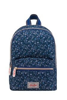 Cath Kidston® Navy Eiderdown Ditsy Medium Backpack