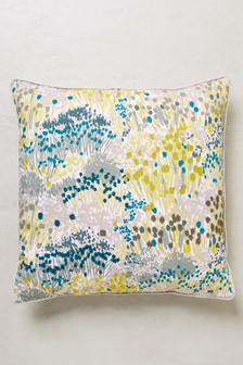 Botanical Meadow Floral Cushion