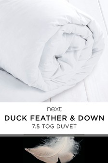 Duck Feather And Down 7 Tog Duvet