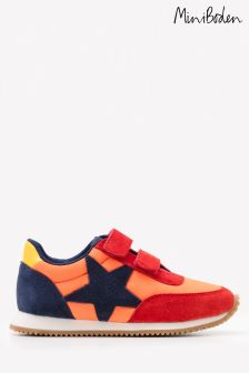 Boden Red Suede Trainer