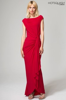 HotSquash Red Grecian Dress