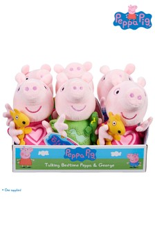 Peppa Pig™ Talking Bedtime Peppa & George