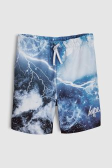 Hype. Blue Lightening Swim Short