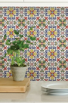 Wall Pops Tuscan Backsplash Tiles
