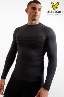 Lyle & Scott Sport Black Base Layer