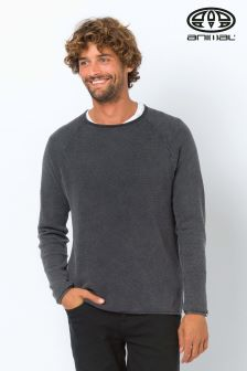 Animal Grey Morris Jumper