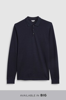 Polo Oxford haut de gamme à manches longues