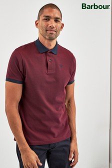 Barbour® Red Sports Polo