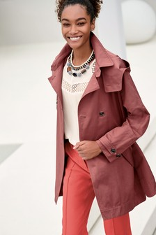 Short Trench Jacket