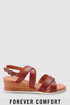 Chaussures compensées Forever Comfort asymétriques