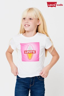 Levi's® Kids White Logo T-Shirt